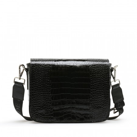 NUDE Amy big Saddlebag, Cocco Nero