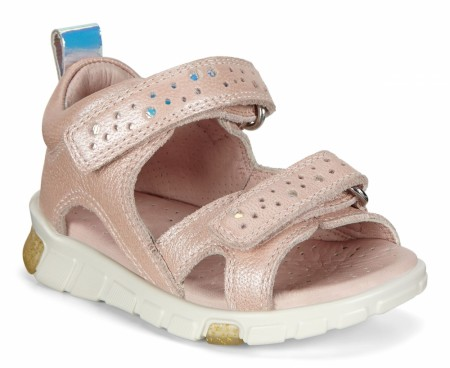 ECCO Mini Stride Sandal, Rose
