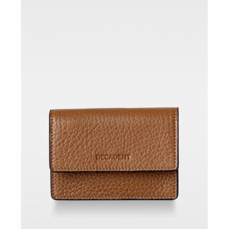 DECADENT Darcy Tiny Wallet Cognac