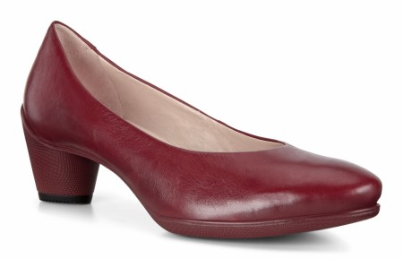 ECCO Sculptured 45 Pump, Syrah