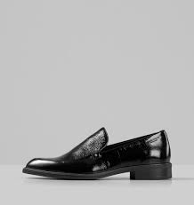 VAGABOND Frances Loafer Sort Lakk