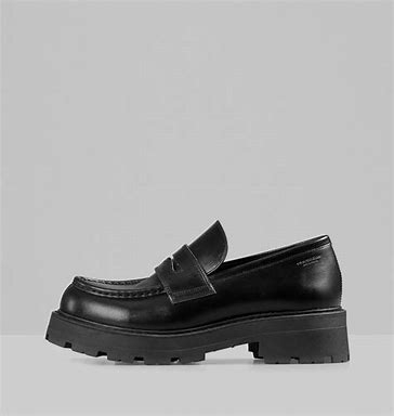 VAGABOND Cosmo 2.0 Loafer Sort