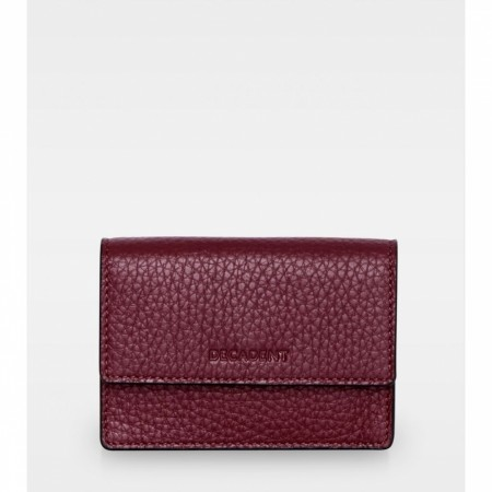 DECADENT Darcy Tiny Wallet,  Oxblood
