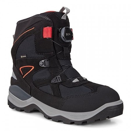 ECCO  Snow Mountain BOA Jr GORE-TEX® , Sort