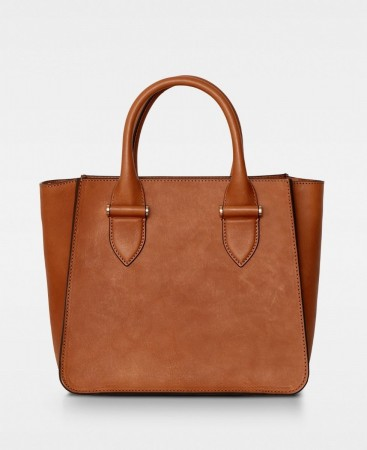 DECADENT Lynette Small Tote Cognac