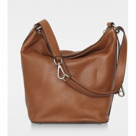 DECADENT Sara Small Shoulder, Cognac