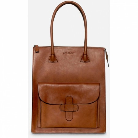 DECADENT Rina Working Bag,  Cognac