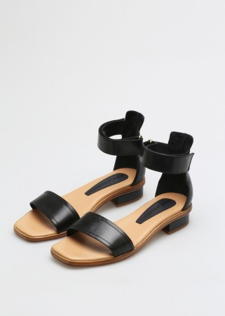 NUDE Tindra Sandal, Tequila Cuoio