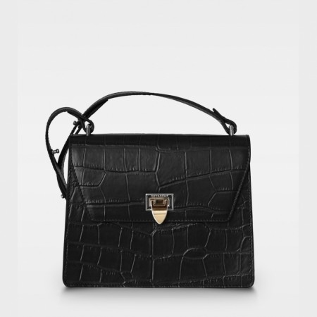DECADENT Nadia Cross, Croco Black
